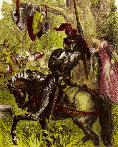 an argument in favor of sir lancelot du lake being the most gallant knight in the world