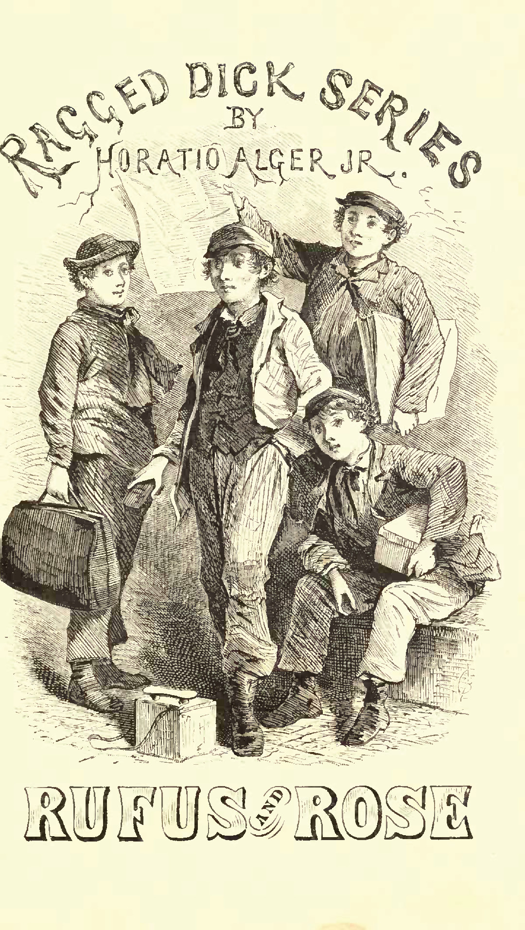 imagery in ragged dick essay Wrote ragged dick or, street life in new york with the bootblacks in 1868 alger recreates the story of a boy and his life as a boot black in.