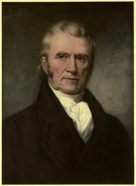 the leader of the united states john marshall