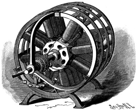 The project gutenberg ebook of the progress of invention for Who invented the electric motor in 1873
