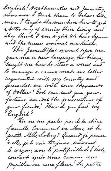 writing of rizal