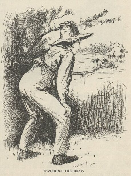 an analysis of the character of jim in the novel the adventures of huckleberry finn Huck finn really lived my book is for boys and girls  the adventures of tom sawyer that book ends like this: jim, was sitting in the.