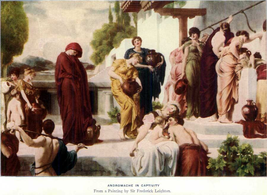 the relationship between homeric greek men and women as described in hector and andromache Achilles is the strongest fighter in the greek side, and hector of the men and women involved in the war homer leaves the relationship between the.