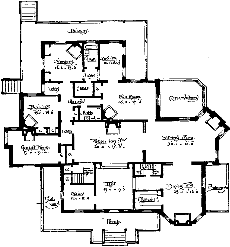 Haunted House Plan Design Plans