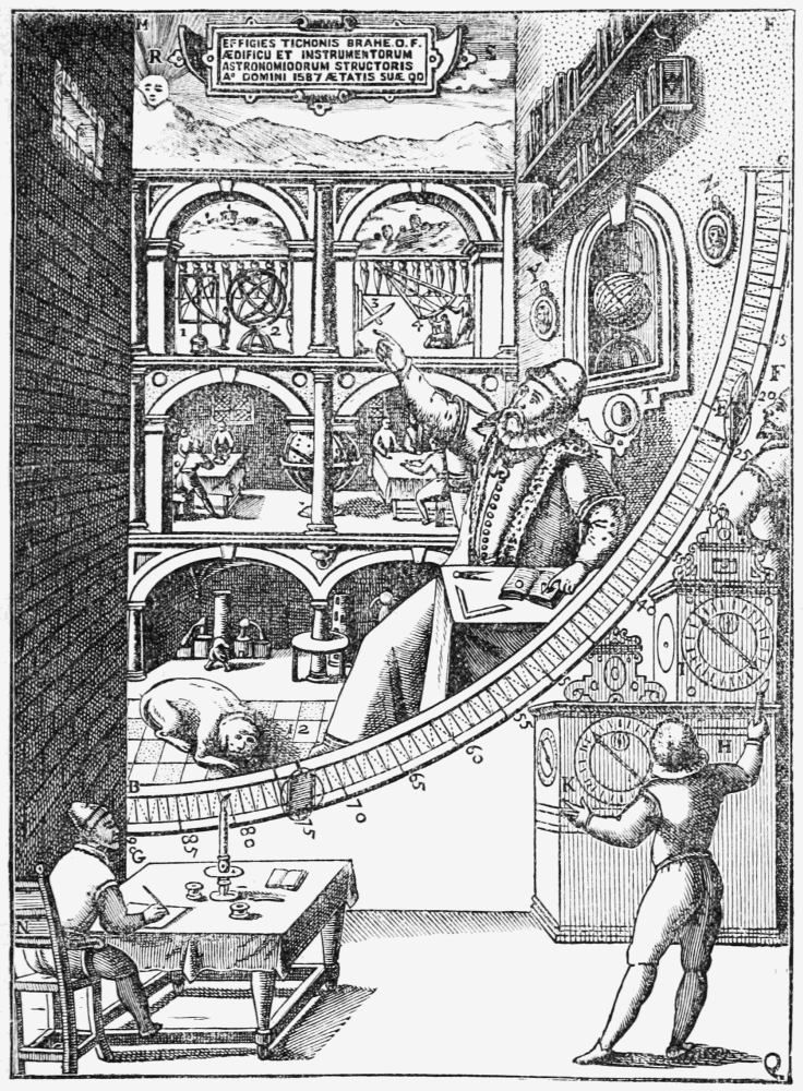 The project gutenberg ebook of great astronomers by sir for Mural quadrant