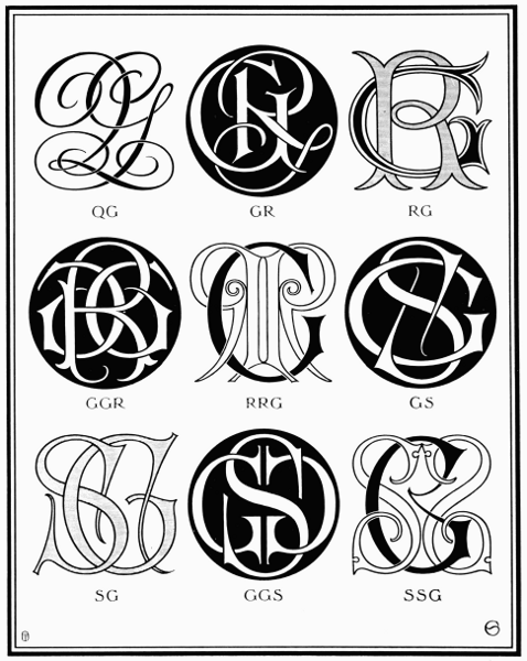 the project gutenberg ebook of monograms and ciphers  by a  a  turbayne