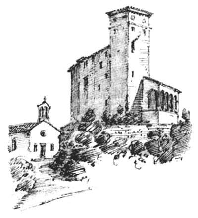 Guida delle prealpi giulie di olinto marinelli for Disegni casa castello