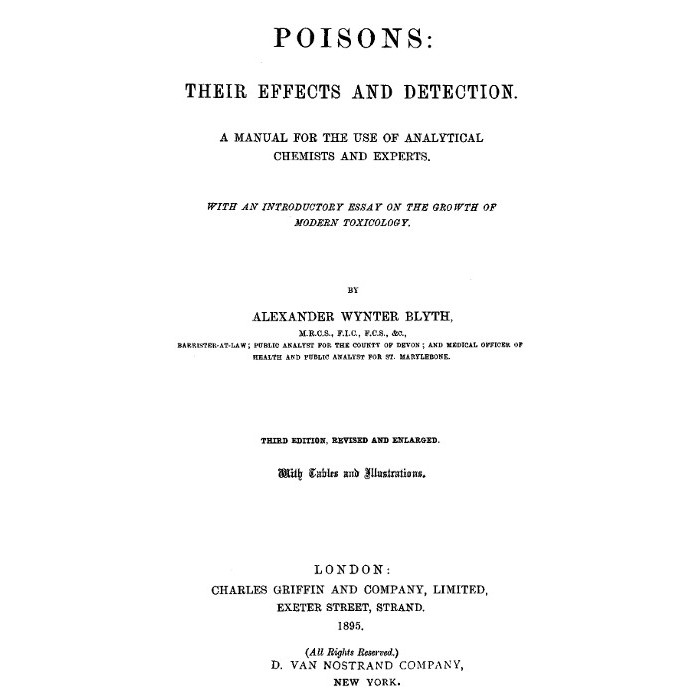 poisons and their effects essay Its called toxicologythough, the correct definition of toxicology would be given as follows:toxicology is a science dealing with properties, actions, toxicity, fatal dose, detection and estimation of, interpretation of results of toxicological analysis and treatment of poisons.