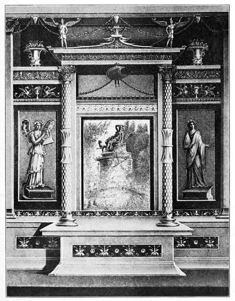 four styles roman wall painting incrustation style archite Ancient and medieval art 190406 the villa of the mysteries you might note that four styles permeated roman wall paintings the first style is incrustation.