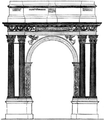 greek and roman arches and architecture Roman architecture roman architecture has left its influences around the western world from amphitheaters to arches that were built wherever the romans went.
