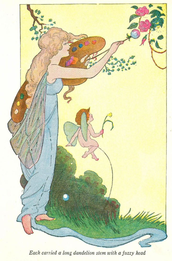 flowerland fairies coloring pages - photo #27