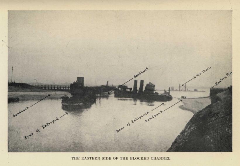 El resultado del raid de Ostende