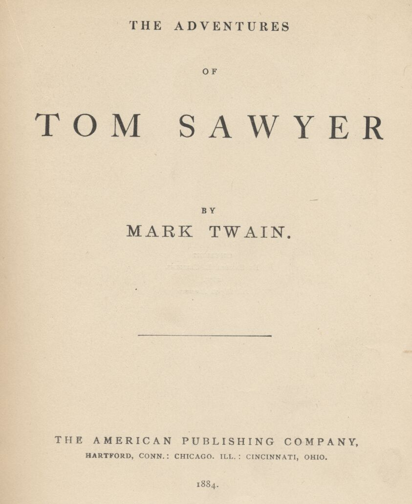 characters description in adventures of tom sawyer english literature essay English – 8 literature and composition  analyzing and interpreting literature clep course description:  you will be reading the adventures of tom sawyer.